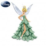 Disney's All Decked Out For The Holidays Figurine Collection Tinkerbell