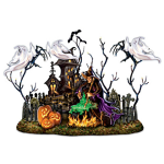 Add a Lighted Centerpiece to Your Halloween Table