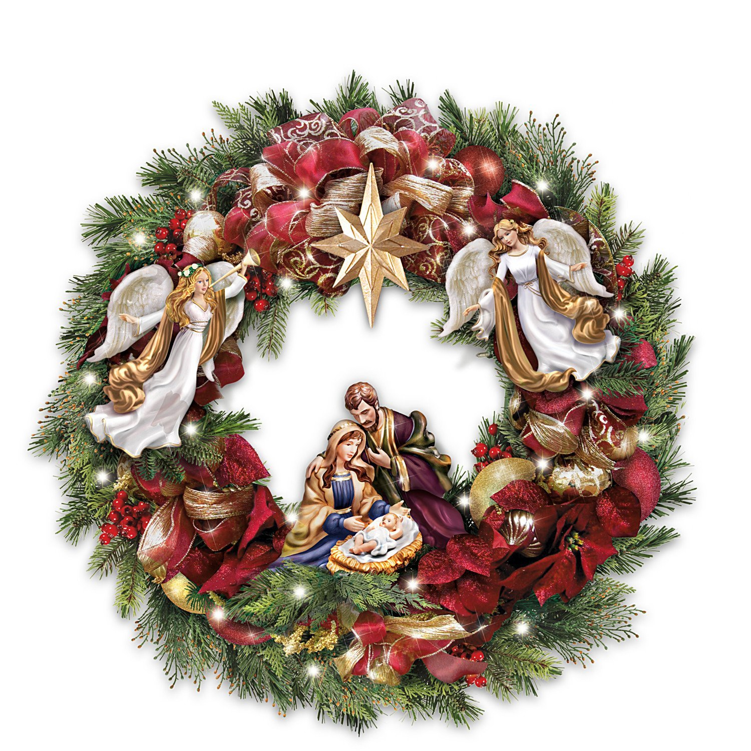Thomas Kinkade Christmas Nativity Gifts