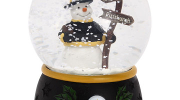 Pittsburgh Steelers Snowglobe