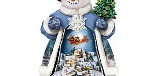 Collecting Thomas Kinkade Snow Globes