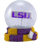 LSU Tigers Scarf Snow Globe